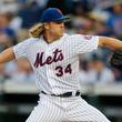 【MLB】「マジかよ…」 メッツ剛腕が痛烈ピッチャー返しに驚異的反応「完璧なキャッチ」