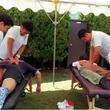 【地域密着】福岡市南区 中体連ソフトテニス大会に、堺整骨院が救護班として参加しました!!