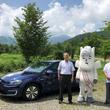 フォルクスワーゲンの「e-ゴルフ」が長野県白馬村で無料シェアリング可能に