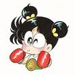 ギネス認定漫画『あさりちゃん』本人がツイッター開始で話題 ハム太郎も「始めてるのだ!」