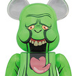 『ゴーストバスターズ』の緑の大食い亡霊・スライマーがBE@RBRICKの2サイズセットになって出現!