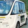 "SBドライブ、""ハンドルがない自律走行バス""の実証実験を長崎県対馬市公道で実施"