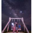 """1年前より幸せそう! 辻希美&杉浦太陽、""""加工なし""""の星空の下で家族ショット「新たに6人で」"""