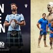 ラグビースコットランド代表とラグビーイタリア代表の「ラグビーワールドカップ2019日本大会」で着用するラグビージャージを発売