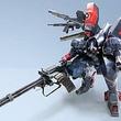 「METAL WOLF CHAOS XD」に登場する特殊機動重装甲「メタルウルフ」の高精細ペーパークラフトが公式サイトで無料配布開始
