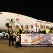 9年ぶりJALの名でB747「ジャンボ貨物機」飛ぶ 機体に「鶴丸」 カリッタ航空と共同運航