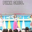 """みやびちゃん率いるPINK CRES.、初の「TIF」で""""敬礼率100%""""?<TIF2019>"""