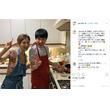 和田アキ子、安田美沙子一家に「焼うどん」振る舞う 「よく食べるわ!!」