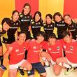 「ノーサイド・ゲーム」出演者がラグビー女子セブンズ日本代表軍に挑む!