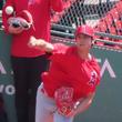 【MLB】大谷がブルペンで50球 7~8分の力で129キロ目処、 感覚とスピードは「大体一致」