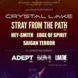 Crystal Lake新木場コースト企画にHEY-SMITH、Stray From The Pathら4組追加