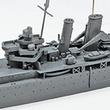 イギリス海軍重巡洋艦ケントが青島文化教材社からキット化!航空機2機付きの特別仕様でベンガジ湾の戦闘を再現!!
