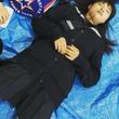 """土屋太鳳「このときは眠くて眠くて」セーラー服姿での無防備な寝姿に""""可愛い""""の声が続出"""