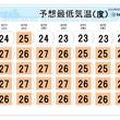 九州~関東 寝苦しい夜しばらく続く 熱中症対策を