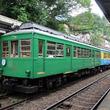 緑色の「モハ2形電車109号車」が初ライトアップ! 開業100周年で 箱根登山鉄道