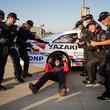 トヨタ自動車大学校の学生がアメリカ・ナスカーでレースメカ体験
