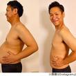 """はんにゃ川島""""ぽっこりお腹""""消滅、81kgが69kgに"""