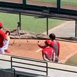 【MLB】大谷翔平、変化球投げた! 術後初めてカーブ&スライダー「不安はありますけど…」