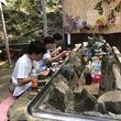 流しそうめんで涼しい夏を、愛媛県で「権現山 流しそうめん」開催中