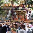 山梨県上野原市で華やかな山車が繰り出す「牛倉神社例大祭」開催