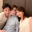 Matt、成田凌&矢田亜希子と3ショット「ハイレベルのハンサムボーイはここまで顔を近づけるのか」