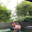 花田虎上、シンガポール旅行の最終日を満喫「毎日楽しく過ごしました」