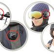どこでもアクションカメラが日本初上陸、服や車や壁にも取付可能