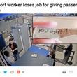 「あんたってブサイク」と書いたメモを搭乗客に渡した空港職員が解雇(米)<動画あり>