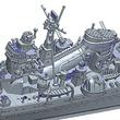 「捷一号作戦」に臨む日本海軍重巡洋艦「鈴谷」と「熊野」が、フジミ模型の「1/700特シリーズ」にて新金型でキット化!