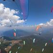 パラグライダー世界選手権、鮮やかに北マケドニアの空舞う