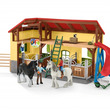 ドイツ生まれの知育玩具で農場がテーマのリアルな動物フィギュアで遊べる【シュライヒ】「ファームワールド」シリーズから馬小屋をテーマにした『きゅう舎』が新発売!