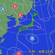 北陸中心 23日(金)にかけて大雨