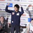 楢崎智亜「今までで一番うれしい」 目標は弟・明智と兄弟五輪出場「頑張ってほしい」