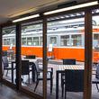 箱根登山鉄道モハ1形107号が鈴廣蒲鉾本店の新型カフェにいたよ! 9月8日「えれんなごっそCAFÉ107」オープン