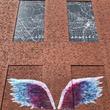 """The Global Angel Wings Project"" × OZIO NOOK  マンション壁に愛と平和の象徴としての「天使の羽(ANGEL WINGS)」が誕生!"