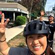 北斗晶、家族全員でサイクリングをしてカナダ観光「絶対に筋肉痛になるな」
