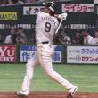 鷹・柳田、137日ぶり復活弾! 逆転勝利にお立ち台で絶叫「野球サイコー!」