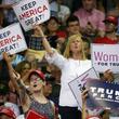20年大統領選で再選目指すトランプ陣営、激戦州で女性対象に集会