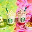 """スタバ新作フラペは""""秋のりんご""""--グリーンとピンクのカラフルな2色展開"""