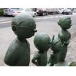 「波平さんの毛」またも銅像から抜かれる 桜新町の商店街「必ず生えてきますから!」