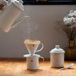 ガラスで金属を包んだホーローのコーヒーセット「HORONA」クラウドファンディングMakuakeにて先行発売開始