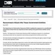 米国テキサスの22政府部門がランサムウェアで混乱