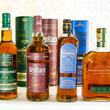 【名品輸入ウイスキー飲み比べ】スコッチ『グレンドロナック』『ベンリアック』と、アイリッシュ『ブッシュミルズ 』、そしてライ『ウッドフォードリザーブ』!【基礎知識付】
