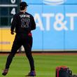 【MLB】大谷翔平、黒ユニに満足「カッコいいなと。白よりいいんじゃないかと思います」