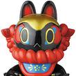 アーティスト・照紗がおくる「郷土玩具怪獣イヌハリゴン」のソフビモデルがメディコム・トイにて抽選販売!