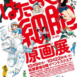「はたらく細胞」原画展が東京と愛知で開催 擬…