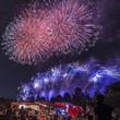音楽とシンクロする花火が必見の「いせさき花火大会」が群馬県伊勢崎市で開催