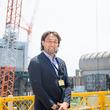 ラグビー元日本代表 大野均選手  福島第一原子力発電所、廃炉資料館を視察