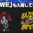 世界が熱狂するアメリカプロレス団体!WWEのTシャツが入荷!
