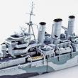 イギリス海軍重巡洋艦「ノーフォーク」が今度は標準装備で青島文化教材社より発売!